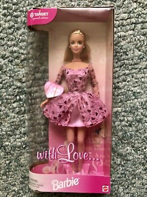 With Love Barbie Doll Target Special Edition 38004 NRFB MINT 1999 for sale online