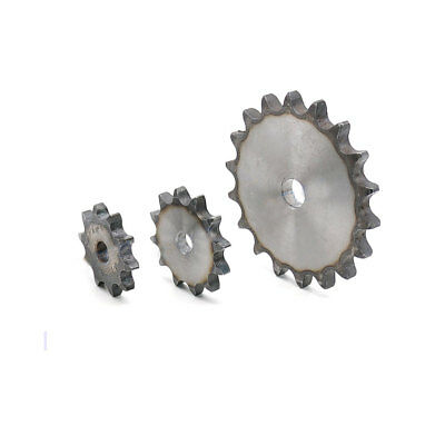 """#40 Flat Chain Drive Sprocket 10T-37T Pitch 1/2"""" 12.7mm For #40 08B Roller Chain"""