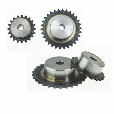 """#40 Roller Chain Drive Sprocket 9T-40T Pitch 1/2"""" 12.7mm For #40 08B Chain"""