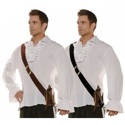 Baldric Sword Belt Adult Renaissance Medieval Pirate Costume Baldrick