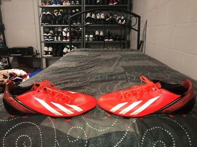642ad7248 ADIDAS F30 TRX FG Mens Soccer Cleats Size 10.5 Infrared Black White ...