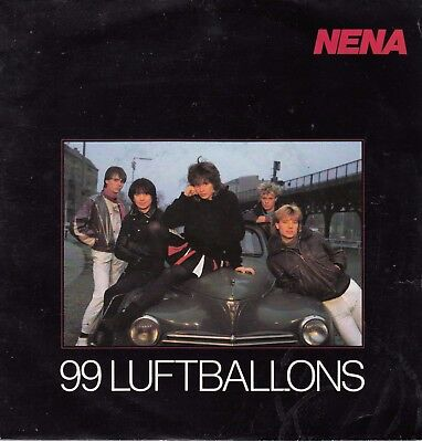 "Nena - 99 Luftballons - 7""Single von 1983"