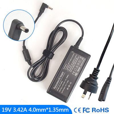 19V 3.42A Ac Power Adapter Charger for Asus Zenbook UX21A UX32V UX32VD UX52VS