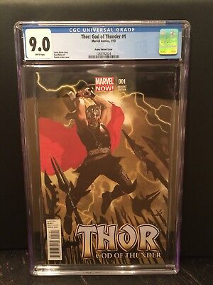 Thor: God Of Thunder #1 Acuna Variant CGC 9.0
