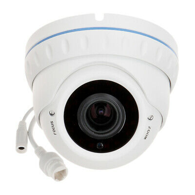 TELECAMERA DOME IP 2 MPX VARIFOCALE 2.8 -12 mm ONVIF POE 3 LED ARRAY