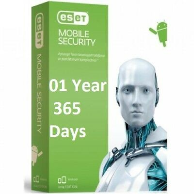Eset Mobile Security, 1 user /1 year, Original key for android ( 365 Days
