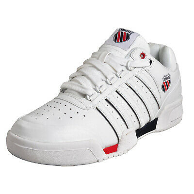 """K-Swiss Gstaad /""""Majors Pack/"""" Sizes 6-10 White RRP £75 BNIB 01734 Limited Edition"""