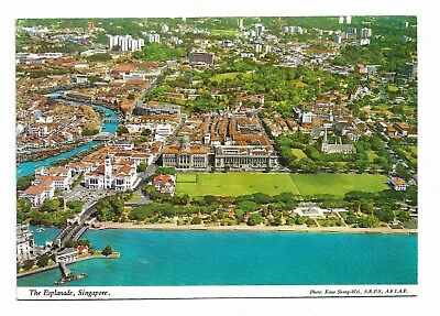 Singapore From the Air Postcard Unused 926G