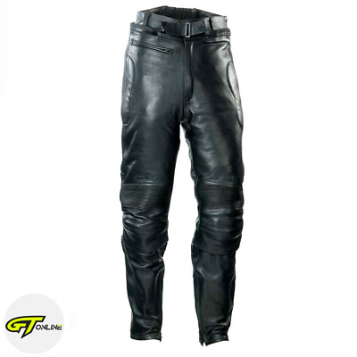 Spada Leather Road Motorcycle Trousers | Black | Ladies Size 10 | 0465480
