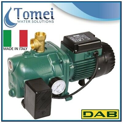 Self-Priming Electro Water Pump SET UP in Cast-Iron JET 62 M-P 0,44KW 240V DAB