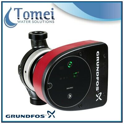 GRUNDFOS Electronic Circulator MAGNA1 25-80 PN6/10 0,13kW 1x230V 180mm 50/60Hz