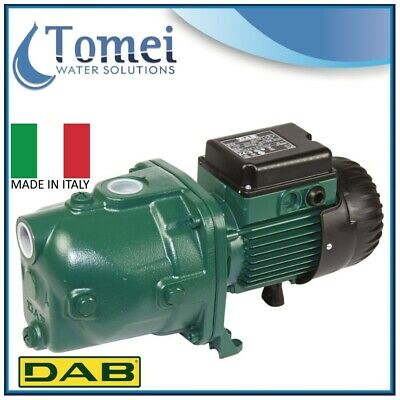 Self-Priming Electro Water Pump in Cast-Iron JET 62 M 0,44KW 0,6HP 240V DAB