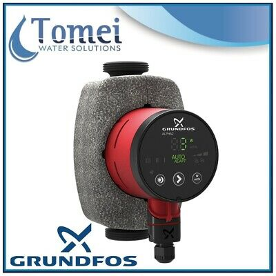 GRUNDFOS Electronic Circulator ALPHA2 25-60 34W 1x230V 180mm 50/60Hz