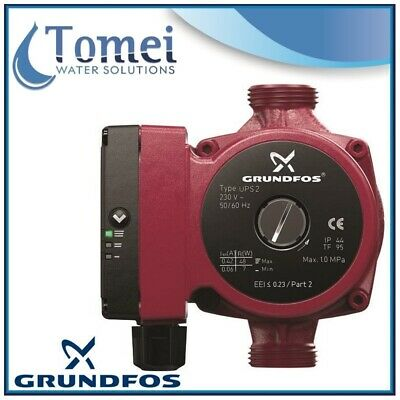 GRUNDFOS Electronic Circulator UPS2 25-40/50/60 48W 1x230V 130mm 50/60Hz