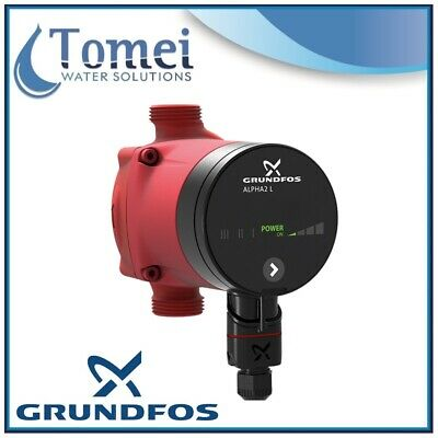 GRUNDFOS Electronic Circulator ALPHA2 L 15-50 32W 1x230V 130mm 50/60Hz