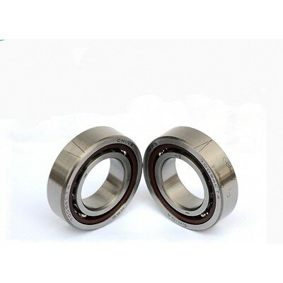1Pcs 708AC/708 High Speed Angular Contact Spindle Ball Bearing Size 8*22*7mm