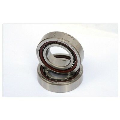 1Pcs 7200AC High Speed Angular Contact Spindle Ball Bearing Size 10*30*9mm