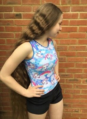 *NEW* Exclusive Unicorn Gymnastics Leotard by Zodiac Leos