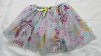 Girls' Clothing (newborn-5t) Clothing, Shoes & Accessories New Wonder Kids Girls Purple Floral Mesh Skirt Sizes 2t 3t Or 4t