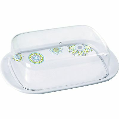 Sandhya Patterned Butter Dish (MD1429)