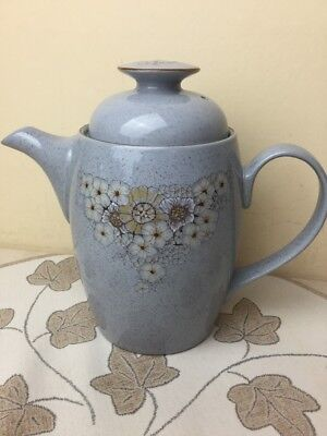 Denby Reflections Large Coffee Pot Mint Unused Pristine Condition