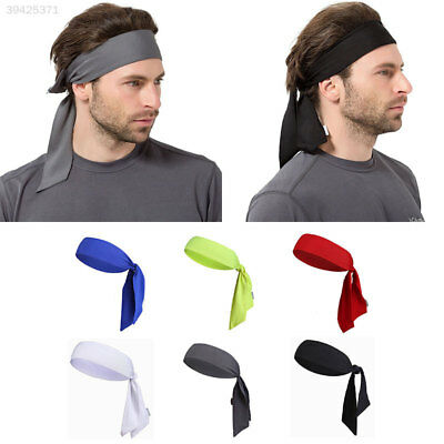 026E Outdoor Sports Running Tennis Yoga Gym Sweatband Headband Wrap Bandana