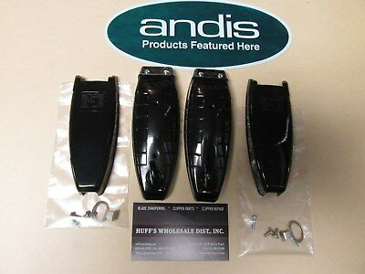 Andis T Outliner  Parts Replacement  Black Top & Bottom Case with Screws >Get 2