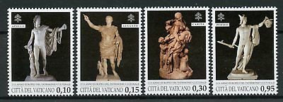 Vatican City 2018 MNH European Year of Cultural Heritage 4v Set Statues Stamps