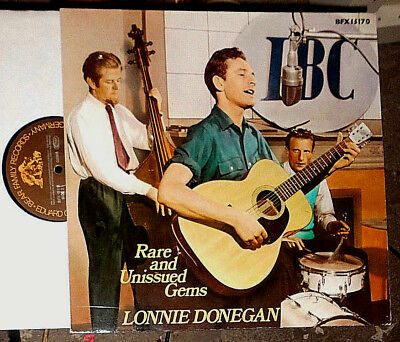 Lonnie Donegan Rare And Unissued Gems Lp
