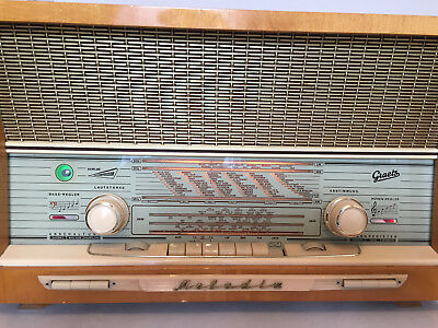 Röhrenradio Graetz Melodia M 518 Schallkompressor GERMAN TUBE RADIO MADE IN GERM