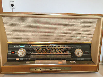 Röhrenradio Saba Meersburg Automatic 125-Stereo GERMAN TUBE RADIO MADE IN GERMAN