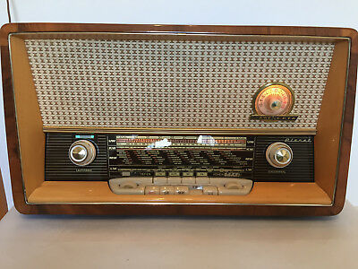 Röhrenradio Loewe Opta Planet 5720 W GERMAN TUBE RADIO MADE IN GERMANY
