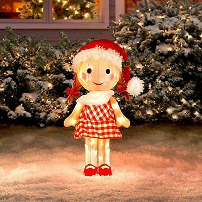 "Rudolph Sally Misfit Toy 24"" 3-D Tinsel Outdoor Christmas Decoration Yard Art"