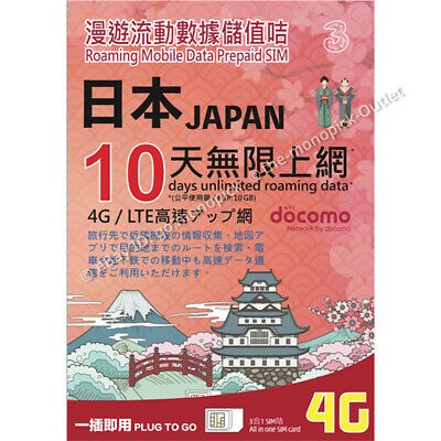 JP MOBILE JAPAN Travel SIM Unlimited for 16days!(Activate by 31AUG19
