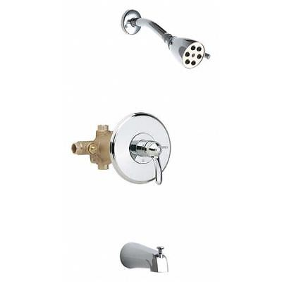 CHICAGO FAUCETS 1905-600CP Thermostatic Balancing Tub And Shower