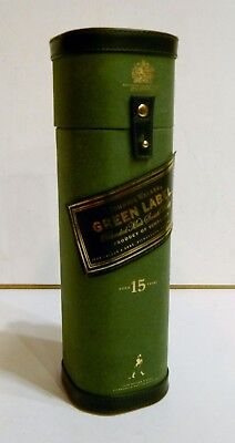 Johnnie Walker Green Label Box Case Empty No Alcohol Bottle Container