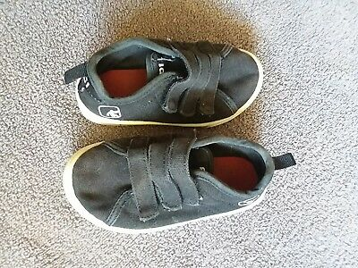 b3f1c1695 AND1 Toddler Boys BLACK Premium Athletic Basketball Kids Sport Shoes Size 7