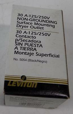 Leviton Non-Grounding Suface Mounting Dryer Outlet 30A
