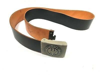 German Military Leather Duty Belt 44'' waist/length