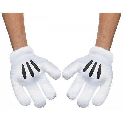 Mickey Mouse Gloves Costume Accessory Adult Disney Halloween