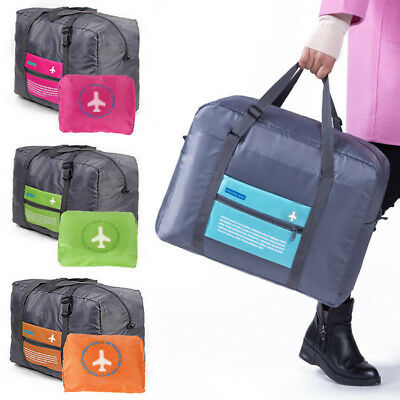 Travel Big Size Foldable Luggage Bag Clothes Storage Duffle Bags Carry-On  Pouch 1febe96e80ebd