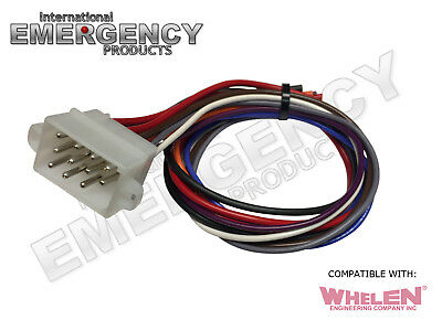 12 Pin Plug Harness Cable for Whelen Siren 295SL 295SL100 101 102 Replacement