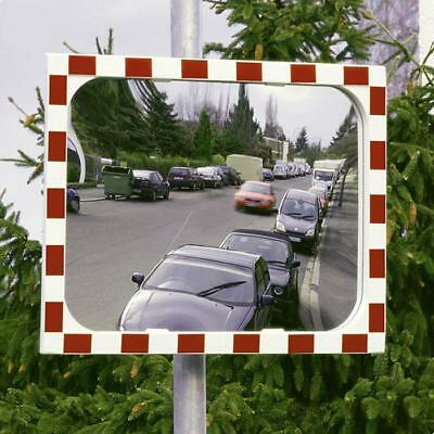 View-Ultra Heated Traffic Mirror