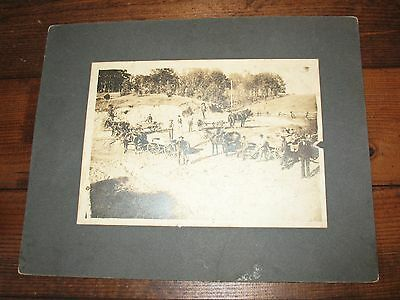 rare 1905 SWEETWATER TENNESSEE  PHOTO, SHERRIFF & MEN HORSES WAGONS~rare