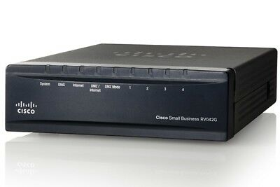 Cisco RV042G 4-Port Gigabit Dual Wan VPN Router