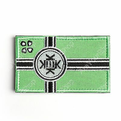 kek flag PATCH ARMY MORALE TACTICAL MORALE BADGE HOOK LOOP PATCH