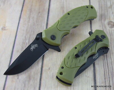 Master Usa Tactical Spring Assisted Knife With Pocket Clip