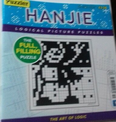 Hanjie picture puzzle book - ISSUE New Magazine Book Light blue cover