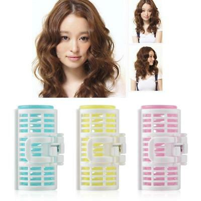 3Pcs Hair Curler Spring Clip Grip Rollers DIY Hairstyle Hair Curler Styling Tool