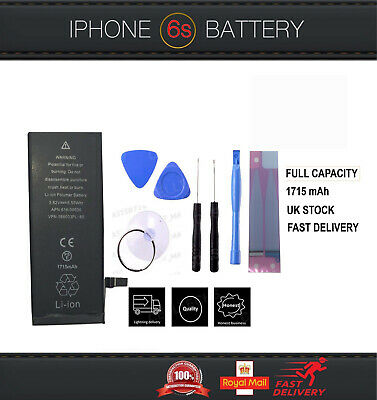 GENUINE ORIGINAL GMZ REPLACEMENT BATTERY FOR IPHONE 6S 1715 mAh WITH FREE TOOLS